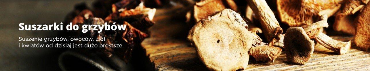 Suszarki do grzybów